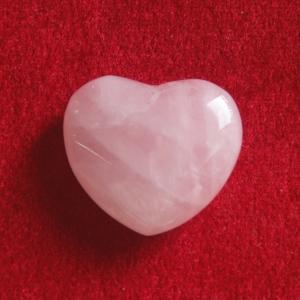 Rosenquarz Herz Mini