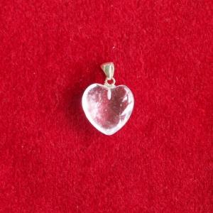 Bergkristall Herz Anhänger