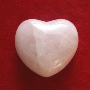 Rosenquarz Herz klein