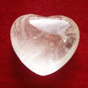 Bergkristall Herz Mini