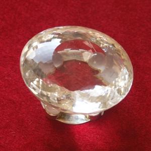 Bergkristall mit Juwelierschliff