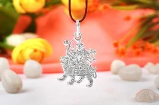 Durga Anhänger Silber