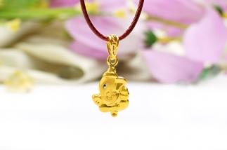 Ganesha Anhänger Gold